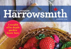 Harrowsmith Magazine Cover for Urban Vegetable Garden